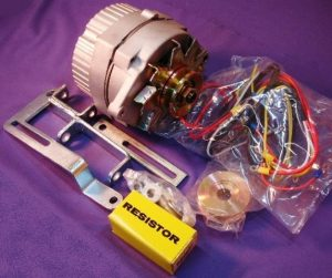 new ford 8n tractor alternator generator conversion kit one wire 63 amp 12v 16999 0 - Denparts