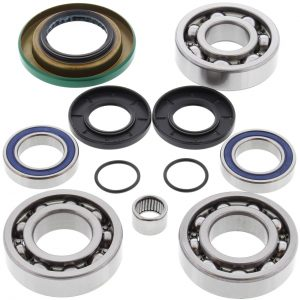 new front differential bearing kit can am traxter 500 auto cvt 500cc 2005 46670 0 - Denparts