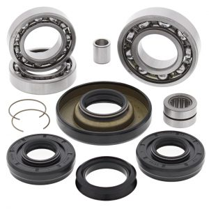 new front differential bearing kit honda trx450fe fm 450cc 2002 2003 2004 98027 0 - Denparts