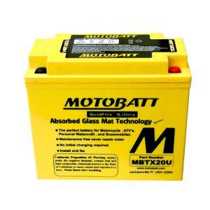 new motobatt battery fits honda trx680fa trx650fa rincon 2004 2011 atv 112562 0 - Denparts