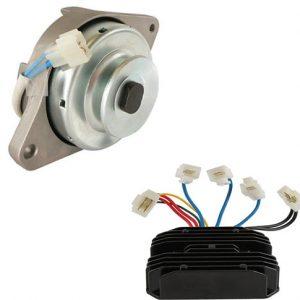 new pm alternator regulator fits john deere utility tractor 2210 2305 2320 2520 87915 0 - Denparts