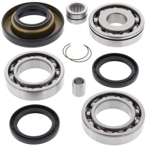new rear differential bearing kit honda trx450es 450cc 1998 1999 2000 2001 18745 0 - Denparts