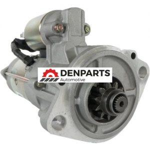 new starter bobcat isuzu engine 8 97204 713 0 m8t77072 12v 12371 0 - Denparts