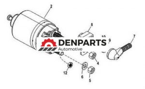 new starter fuse kit for mercruiser 350 mag alpha 4 bbl 5 7l 8cyl 1996 1997 12016 1 - Denparts