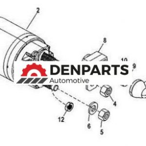 new starter fuse kit for omc marine 7 4l 454ci 8cyl engines 1990 1996 14539 1 - Denparts