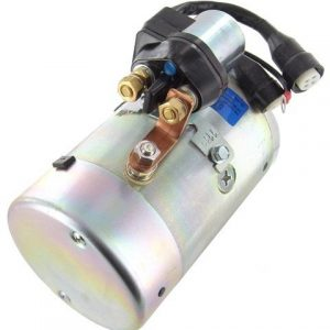 pump motor with solenoid fits dell fenner stone maxon snowaway waltco 1185 ac 44365 1 - Denparts