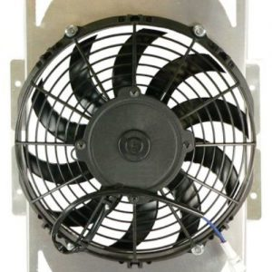 radiator cooling fan motor yamaha rhino 450 yxr45f 660 yxr66f utv 2004 2009 108797 0 - Denparts