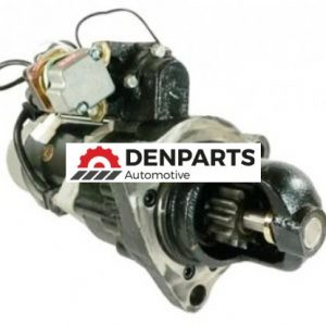 starter fits komatsu 1994 d65e crawler with 6d125 engine 600 813 6610 24 volts 6306 0 - Denparts