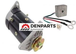 starter generator and regulator for ez go industrial 800 golf carts 1999 2008 68618 0 - Denparts