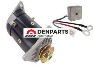 starter generator and regulator for ezgo golf cart workhorse 1994 2008 68616 0 - Denparts