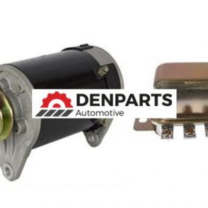 starter generator regulator fits club car golf carts 1984 19910 - Denparts