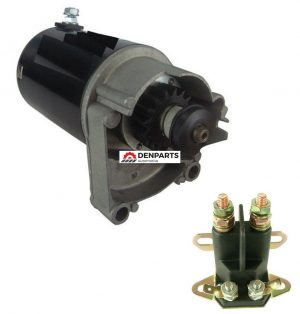 starter solenoid kit briggs and stratton air cooled engines 14 hp 16 hp 18 hp 18141 0 - Denparts