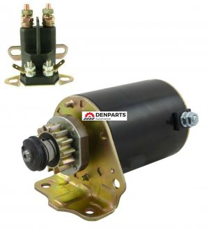 starter solenoid kit fits briggs and stratton air cooled 7 18 hp engine 693551 1001 0 - Denparts