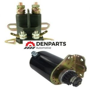 starter solenoid kit fits cub cadet zero turn rzt22 rzt50 z force 44 48 mowers 1268 0 - Denparts