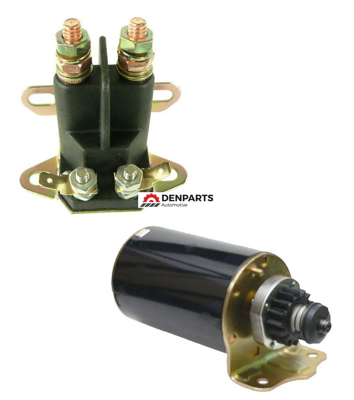 STARTER SOLENOID KIT FOR JOHN DEERE BRIGGS 111 L118 11-18HP  AM106883 AM38136